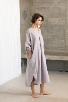 <img class='new_mark_img1' src='https://img.shop-pro.jp/img/new/icons14.gif' style='border:none;display:inline;margin:0px;padding:0px;width:auto;' />KiiRA◇ BRUSHED CAFTAN, LILAC