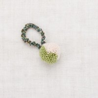 <img class='new_mark_img1' src='https://img.shop-pro.jp/img/new/icons14.gif' style='border:none;display:inline;margin:0px;padding:0px;width:auto;' />Misha and Puff◇ Pom Pom Hair Tie, Sprig