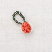 <img class='new_mark_img1' src='https://img.shop-pro.jp/img/new/icons14.gif' style='border:none;display:inline;margin:0px;padding:0px;width:auto;' />Misha and Puff◇ Pom Pom Hair Tie, Red Flame