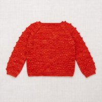 <img class='new_mark_img1' src='https://img.shop-pro.jp/img/new/icons14.gif' style='border:none;display:inline;margin:0px;padding:0px;width:auto;' />Misha and Puff◇Popcorn Sweater, Red Flame