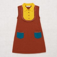 <img class='new_mark_img1' src='https://img.shop-pro.jp/img/new/icons14.gif' style='border:none;display:inline;margin:0px;padding:0px;width:auto;' />Misha and Puff◇ Wool Janis Dress, Henna