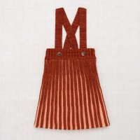 <img class='new_mark_img1' src='https://img.shop-pro.jp/img/new/icons14.gif' style='border:none;display:inline;margin:0px;padding:0px;width:auto;' />Misha and Puff◇ Accordion Pleat Pinafore, Henna