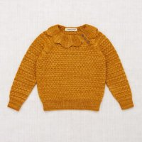 <img class='new_mark_img1' src='https://img.shop-pro.jp/img/new/icons14.gif' style='border:none;display:inline;margin:0px;padding:0px;width:auto;' />Misha and Puff◇ Flower Pullover, Marigold ※Delay Coming Soon!!