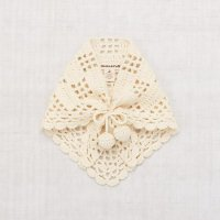 <img class='new_mark_img1' src='https://img.shop-pro.jp/img/new/icons14.gif' style='border:none;display:inline;margin:0px;padding:0px;width:auto;' />Misha and Puff◇ Crochet Kerchief, Winter Cream