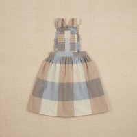 <img class='new_mark_img1' src='https://img.shop-pro.jp/img/new/icons14.gif' style='border:none;display:inline;margin:0px;padding:0px;width:auto;' />Apolina◇ LENA PINAFORE DRESS - BLANKET CHECK CREAM