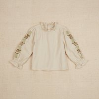 <img class='new_mark_img1' src='https://img.shop-pro.jp/img/new/icons14.gif' style='border:none;display:inline;margin:0px;padding:0px;width:auto;' />Apolina◇ PRUDENCE TOP - EMBROIDERED CREAM