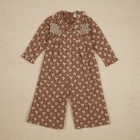 <img class='new_mark_img1' src='https://img.shop-pro.jp/img/new/icons14.gif' style='border:none;display:inline;margin:0px;padding:0px;width:auto;' />Apolina◇ DAHLIA JUMPSUIT - LOAF TIN FLORAL FAWN