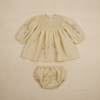 <img class='new_mark_img1' src='https://img.shop-pro.jp/img/new/icons14.gif' style='border:none;display:inline;margin:0px;padding:0px;width:auto;' />Apolina◇ BABY NOEMIE DRESS - PALE PEAR
