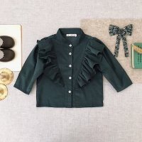 <img class='new_mark_img1' src='https://img.shop-pro.jp/img/new/icons14.gif' style='border:none;display:inline;margin:0px;padding:0px;width:auto;' />SOOR PLOOM◇ Edna Blouse, Evergreen