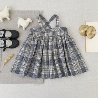 <img class='new_mark_img1' src='https://img.shop-pro.jp/img/new/icons14.gif' style='border:none;display:inline;margin:0px;padding:0px;width:auto;' />SOOR PLOOM◇ Enola Pinafore, Vintage Plaid ※Delay