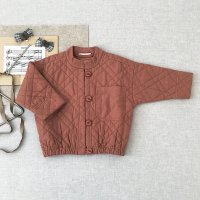 <img class='new_mark_img1' src='https://img.shop-pro.jp/img/new/icons14.gif' style='border:none;display:inline;margin:0px;padding:0px;width:auto;' />SOOR PLOOM◇ Quilted Jacket, Henna ※Delay