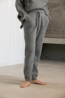 <img class='new_mark_img1' src='https://img.shop-pro.jp/img/new/icons14.gif' style='border:none;display:inline;margin:0px;padding:0px;width:auto;' />KiiRA◇ MIX KNIT PANTS, GRAY (S,M)