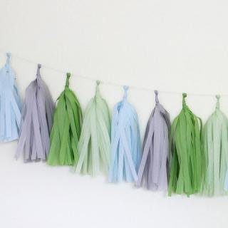 Tissue Paper Tassel Garland Kit (Blooming)