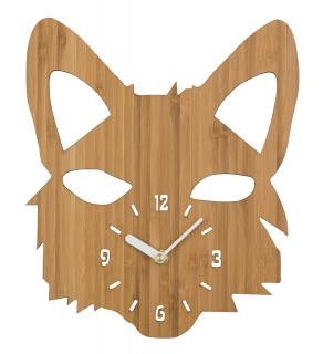 <img class='new_mark_img1' src='https://img.shop-pro.jp/img/new/icons16.gif' style='border:none;display:inline;margin:0px;padding:0px;width:auto;' />30%Off!! la de dah kids Wood Animal Wall Clock (Fox)