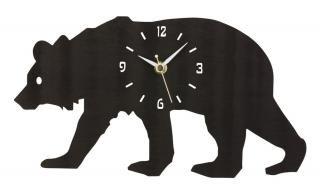 <img class='new_mark_img1' src='https://img.shop-pro.jp/img/new/icons16.gif' style='border:none;display:inline;margin:0px;padding:0px;width:auto;' />30%Off!! la de dah kids Wood Animal Wall Clock (Bear)
