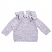 WADDLER Pierrot Jumper Grey  (18-24m, 2-3y, 4y)