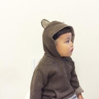 WADDLER Riversible Animal Hoodie (18-24m, 2-3y)