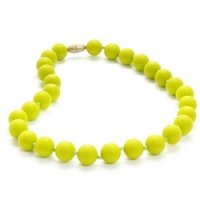 Chewbeads Juniorbeads Jane Jr. Necklace  (Chartreuse・Cherry Red・Deep Sea Blue)