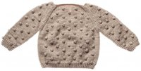 Misha and Puff☆Popcorn Sweater / Cloud (2-3y, 3-4y)