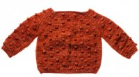 Misha and Puff☆Popcorn Sweater / Cinnamon (2-3y, 3-4y)