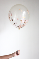 Confetti Filled Balloon - Sorbet