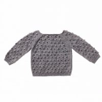 30% Off! Misha and Puff☆Summer Popcorn Sweater/ Driftwood (12-18m, 18-24m, 2-3y, 3-4y)