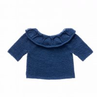 50% Off! Misha and Puff☆Portrait Pullover / Indigo (6-12m, 12-18m, 18-24m, 2-3y, 3-4y)
