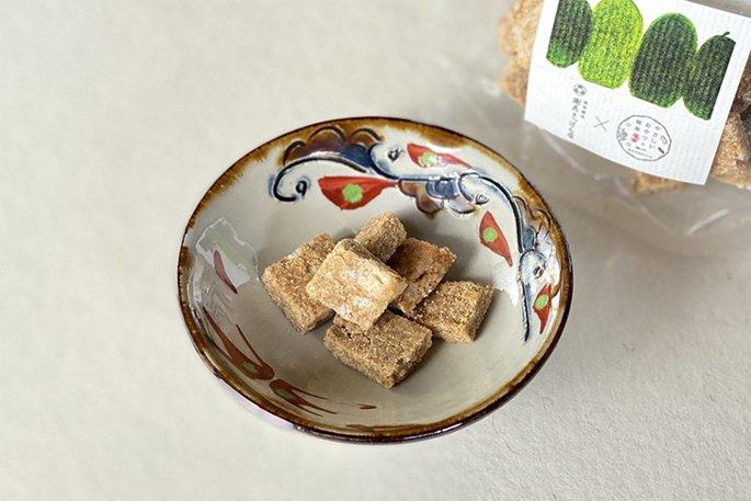 【琉球うとぅいむちシリーズ】「TOUGAN」〜琉球王朝銘菓冬瓜漬けと玄米粉のクッキー〜