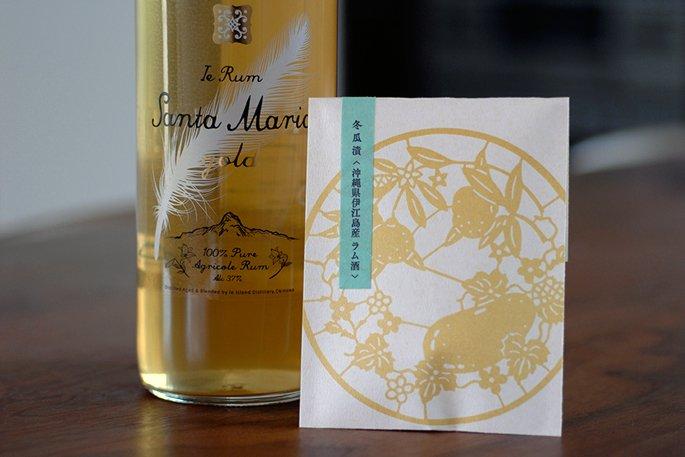 冬瓜漬《沖縄県伊江島産ラム酒》