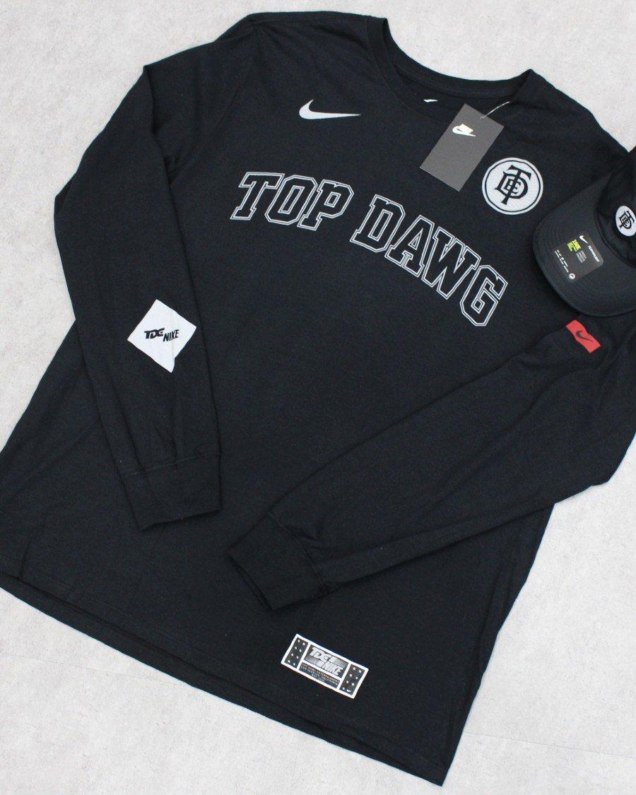 NIKE × TDE L/S T-Shirt / Black