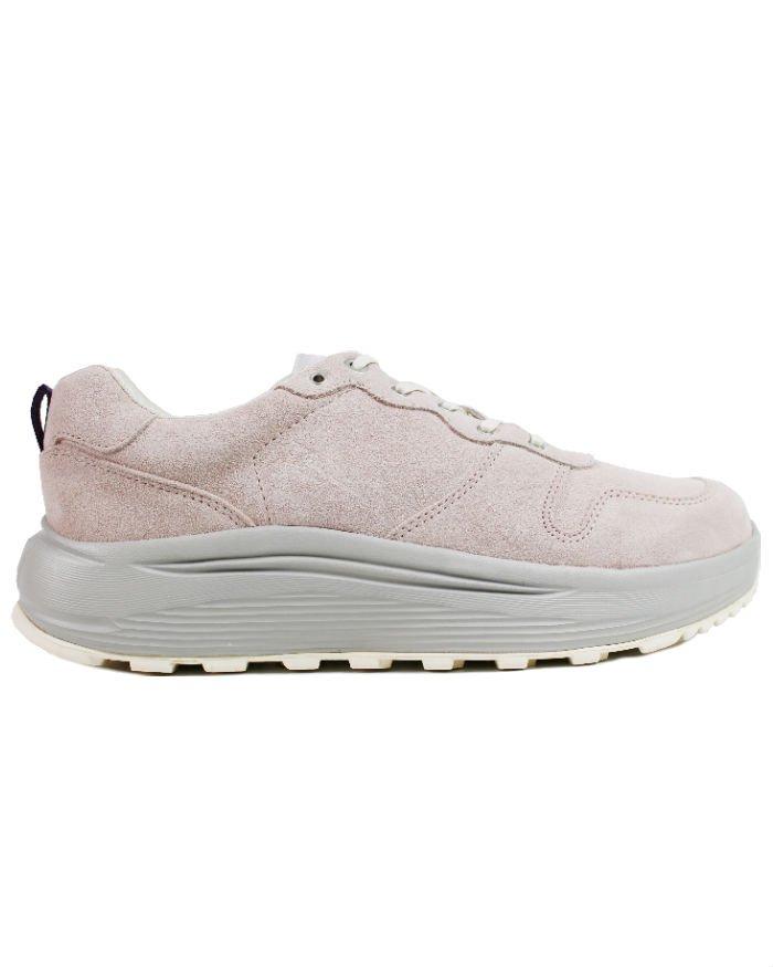 Eytys Jet Combo Suede Sneakers - Pink