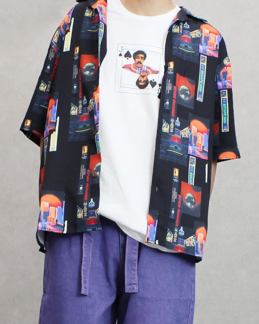 Dezzn Night S/S Shirt - Black