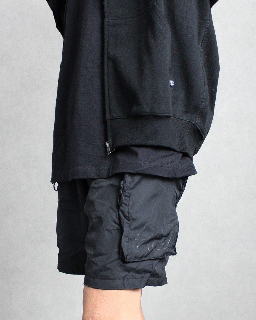 Fila Nylon Cargo Shorts - Black