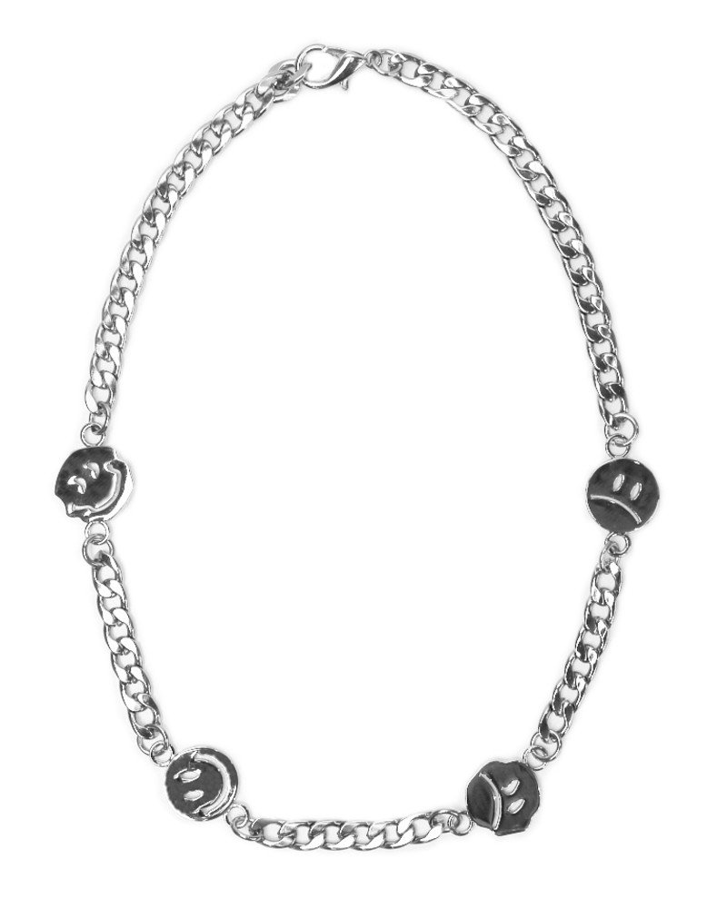 JADED LONDON Smiley Face Chain