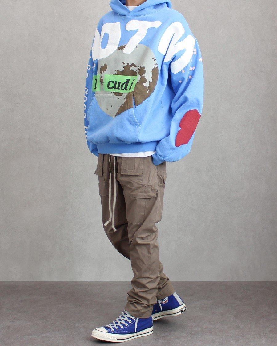 mnml Drop Crotch Cargo Pants - Stone