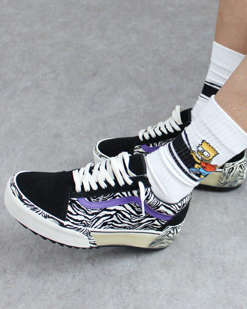 The Simpsons Hi Socks