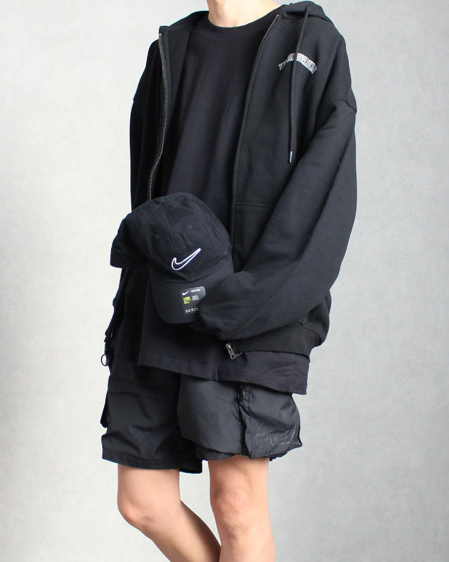 thisisneverthat New Arc Zipup Hoodie - Black