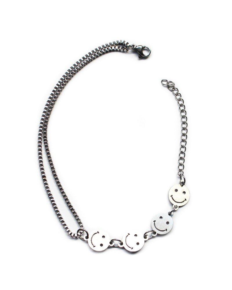 JADED LONDON Smiley Bracelet