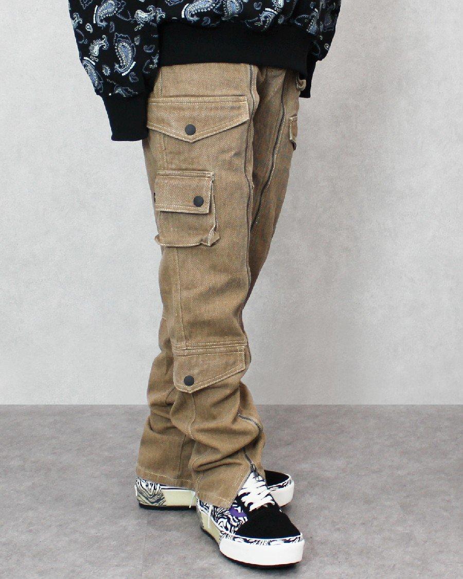 JADED LONDON Cotton Twill Cargo Pants