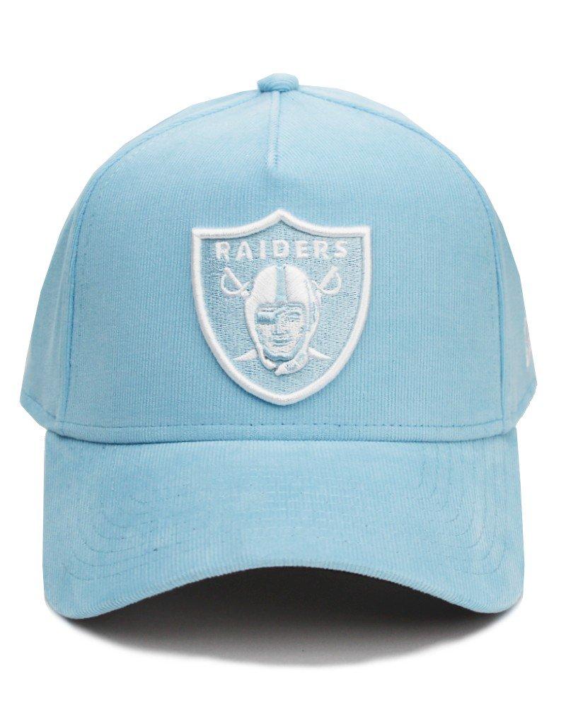 New Era 9Forty A-Frame Raiders Corduroy Snapback Cap
