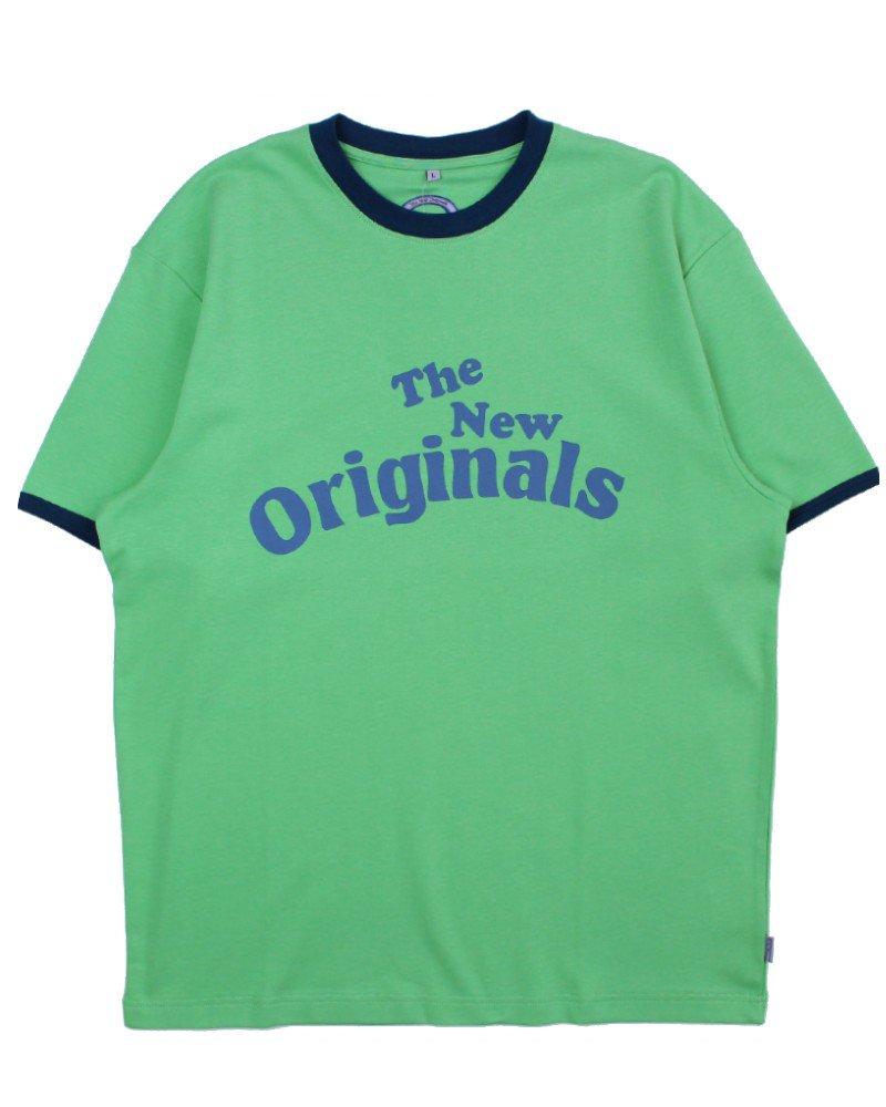 The New Originals(TNO) Workman T-Shirt - Green/Blue