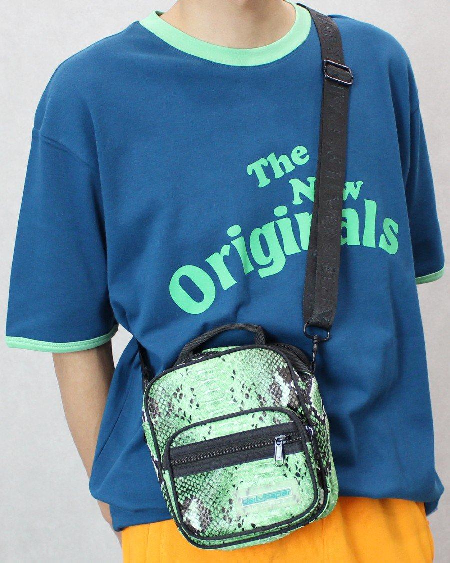 The New Originals(TNO) Workman T-Shirt - Blue/Green