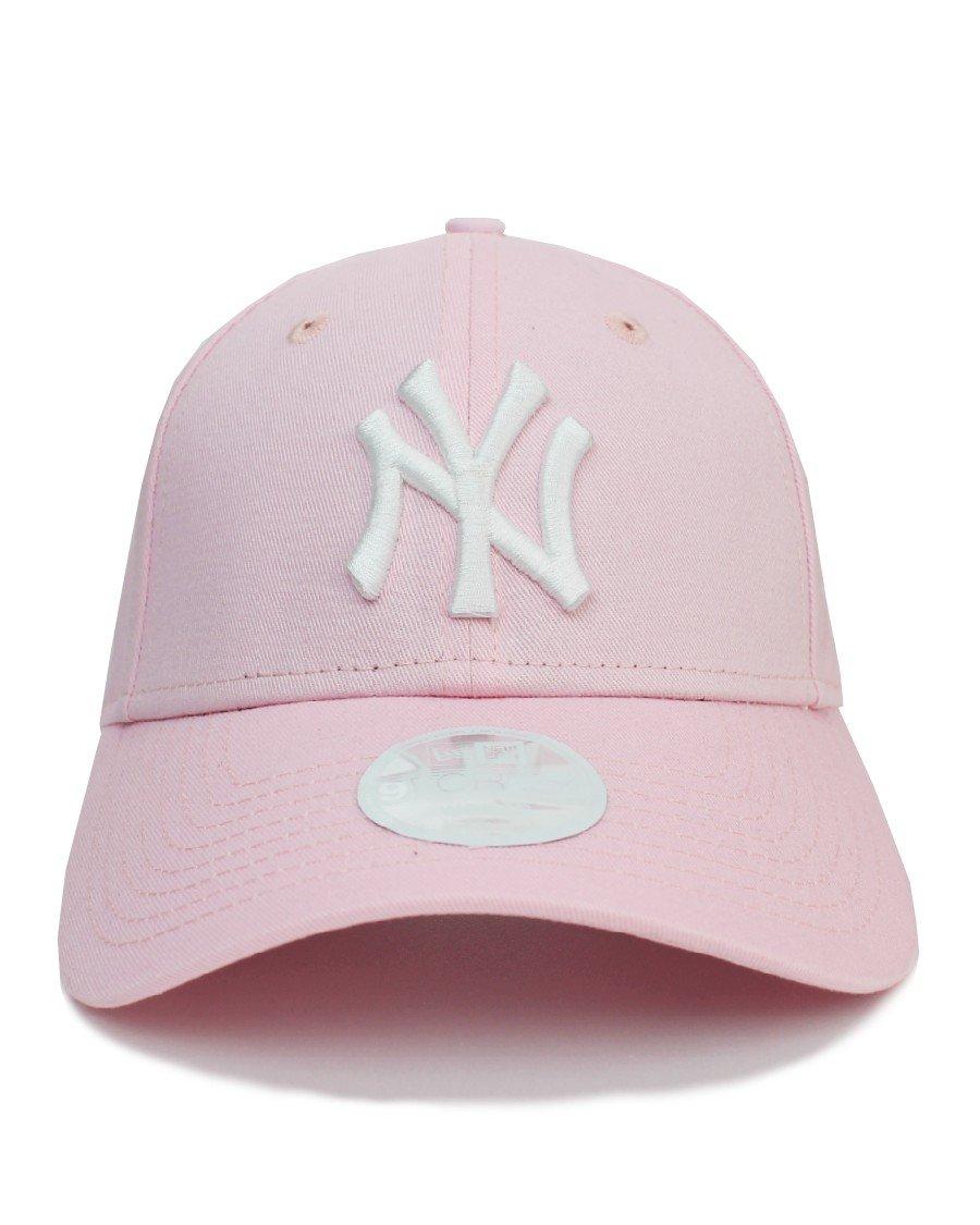 New Era New York Yankees 9Forty Strapback Cap Pink - Women's