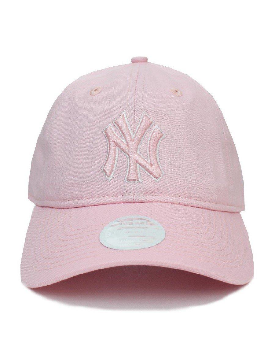 New Era New York Yankees 9Twenty Strapback Cap Pink - Women's