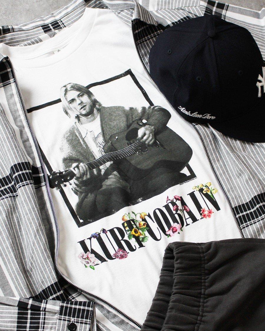 Nirvana Official Kurt Cobain T-Shirt