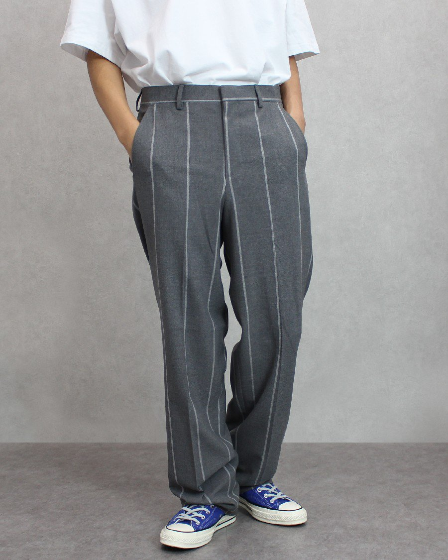 JADED LONDON Pinstripe Loose Fit Pants
