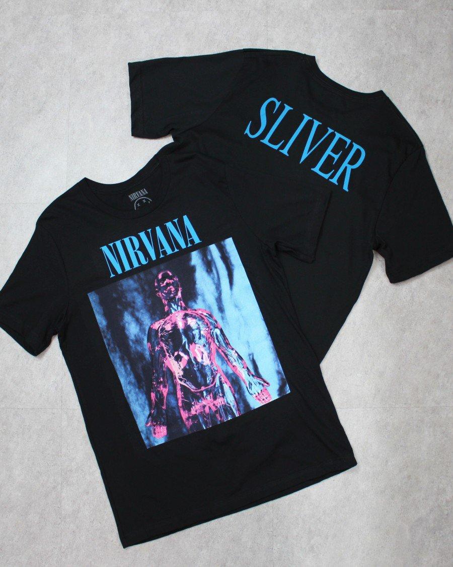 Nirvana Official Sliver T-Shirt
