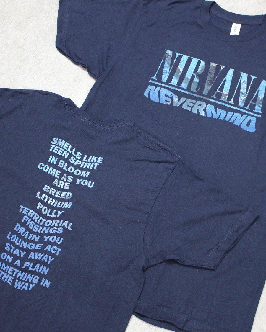 Nirvana Official Nevermind T-Shirt