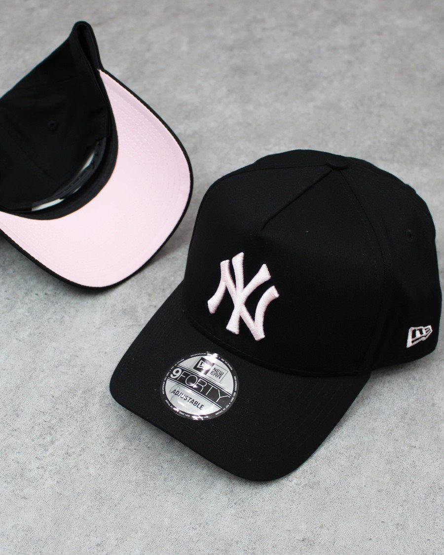 New Era 9Forty A-Frame New York Yankees Snapback Cap B/P