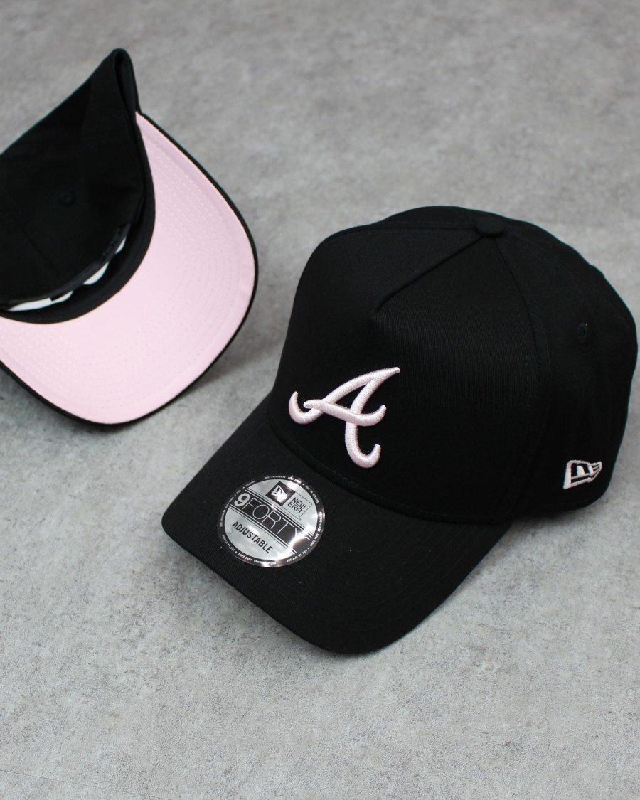 New Era 9Forty A-Frame Atlanta Braves Snapback Cap B/P